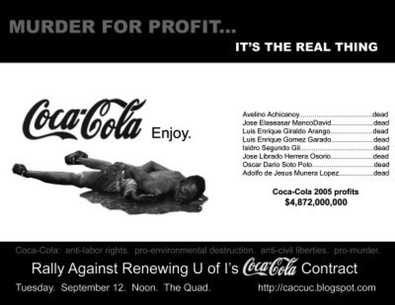 Coca-Cola, la chispa de la muerte. KillerCokeFlyer-Small