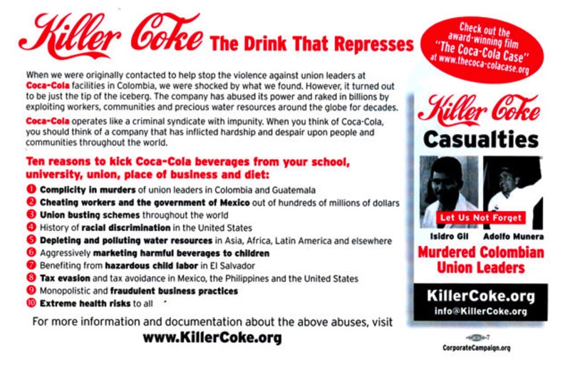 the cocacola case The coca-cola case (2009) on imdb: plot summary, synopsis, and more.