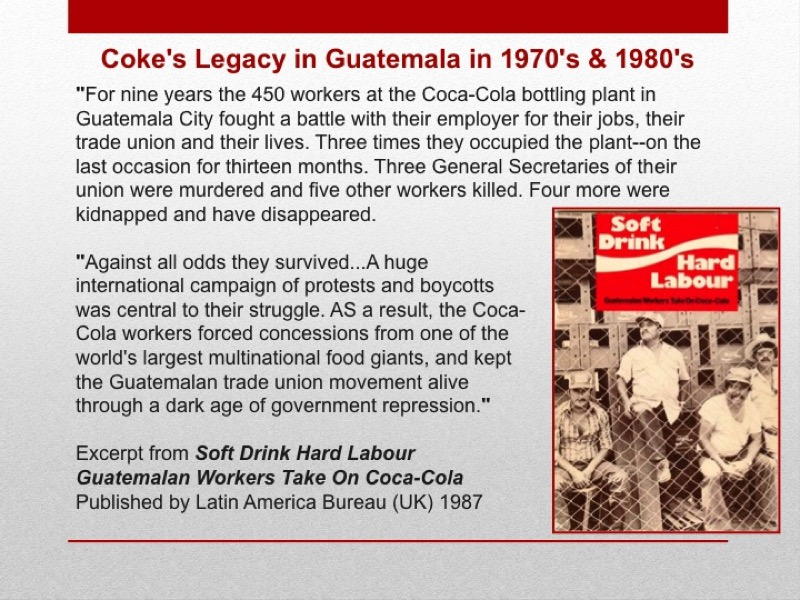coke ethical issues The coca-cola company struggles with ethical crises  the company has dealt with a number of these issues, some via private  coca-cola was slow to issue a.